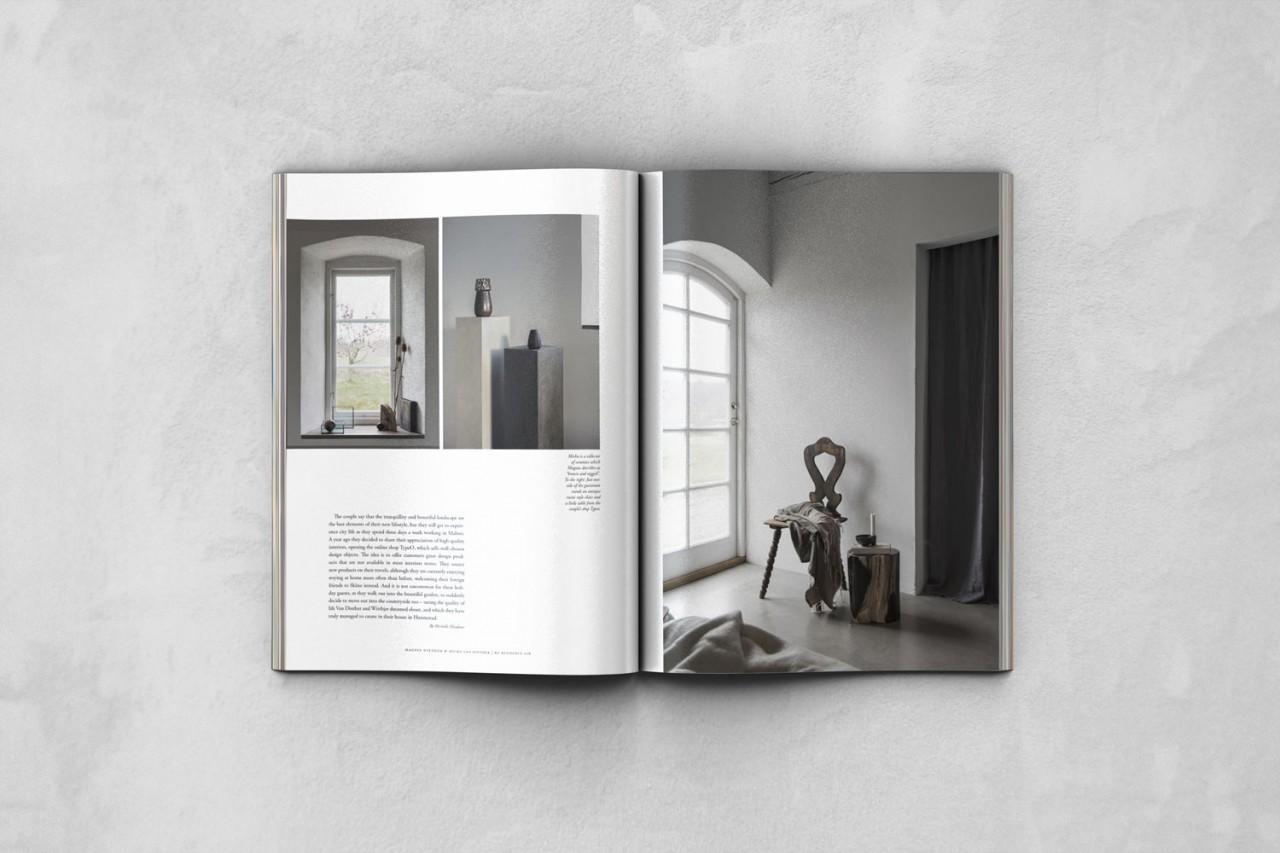 TypeO Journal My Residence Magazine Sweden